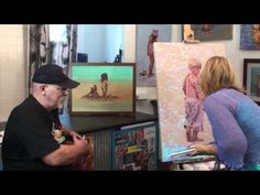 How to Paint Landscapes in Acrylics with Carole Foster | Colour In Your Life - YouTube