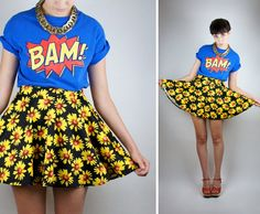 Hey, I found this really awesome Etsy listing at https://www.etsy.com/listing/195589425/vtg-comic-book-bam-t-shirt-unisex-bright