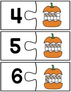 Pumpkin tens frame freebie!