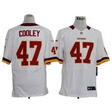 ca740ad7caf Nike Chris Cooley Jersey Elite Team Color White Washington Redskins  47