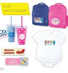 etiquetas personalizadas para crianças