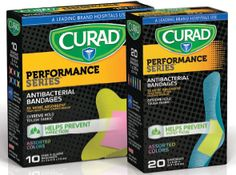 $.75 off Curad Performance Series Bandages Coupon on http://hunt4freebies.com/coupons