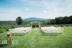 Same Sex Wedding at Monadnock Berry Farm | View of Mt Monadnock, NH