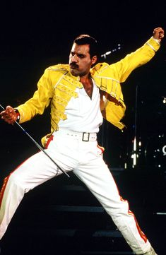 The Freddie Mercury Yellow jacket is of pure class and will make you a class apart. Description from celebsapparel.wordpress.com. I searched for this on bing.com/images