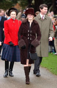 Princess Anne and Zara Phillips