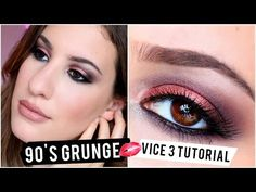 ▶ Urban Decay Vice 3 Tutorial: 90's Grunge With A Twist ♡ - YouTube