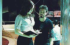 • 1k robert downey jr iron man tony stark Natasha Romanoff black widow scarlett johansson holaleo tony-stark-industries •