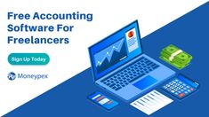 Free accounting software for freelancers to grow their revenue. Free Accounting Software, Create Invoice, Cloud Based, Business, Store, Business Illustration