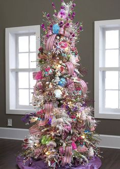 Candy Theme Christmas Tree