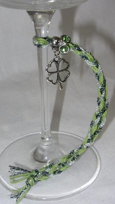 Wine Accessories Wine Charms Wine Glasses Irish Gift by Wine2The9s UNIQUE WINE GLASS ACCESSORY
