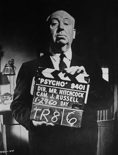 Alfred Hitchcock, behind the scenes on Psycho