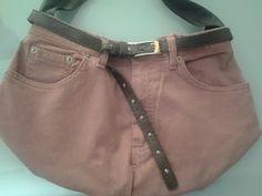 Da un jeans da donna a un'altra borsa