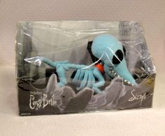 Scraps Skeleton Dog Tim Burton Corpse Bride Plush Doll | eBay