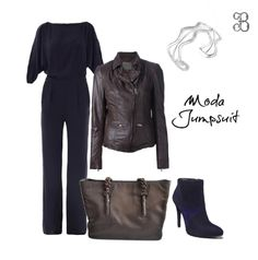 Un jumpsuit estiliza la figura, combina este estilo con adornos sencillos como esta pulsera de plata. ¿Te gusta? #moda #fashion #silver