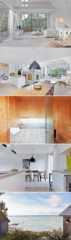 neutral forest/beach house