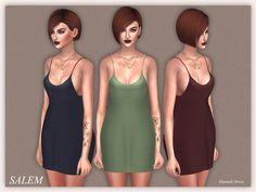Sims 4 CC's - The Best: Hannah Dress by Salem