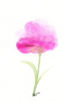 Pink Peony by Karen Faulkner