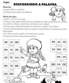 ATIVIDADES EDUCATIVAS: Atividades de Alfabetização