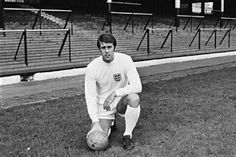 Geoff Hurst of England in 1969.
