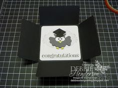 Debbie's Designs: Free Friday-Square Petal Card Fold!