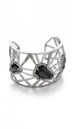 Alexis Bittar Delano Stone Deco Cuff  I would love a dress to wear with this!