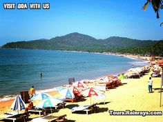 Palolem Beach Goa India.  India Tour Packages, Holiday Packages India, Best Travel Packages