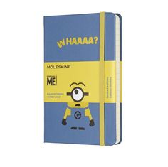 Moleskine Limited Edition Minions Pocket Notebook