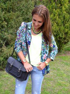 Cool the sack Estilo Blogger, Zara, Fashion Bloggers, Street Style, Blazer, Cool Stuff, My Style, Beautiful, Beauty