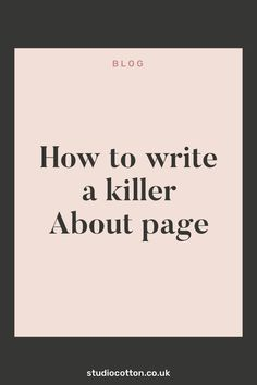 Stuck on what to write about on your about page? Trust me, we've all been there. But you don't have to be stuck any longer because I have some killer tips to help you start & finish that page in no time. So are you ready? Business Branding, Business Marketing, Writing A Bio, What To Write About, About Me Page, Writing About Yourself, Brain Dump, Can You Help, Product Page