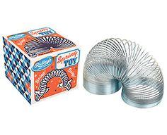 I can never get board of a Slinky: estos juguetes volvieron al mercado, pero esta vez  los adquieren adultos que añoran su niñez.