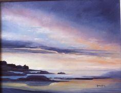 Sunrise at Granite Point
