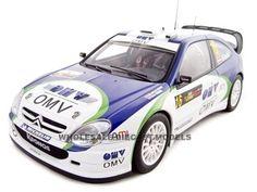 Citroen Xsara 2005 WRC M.Stohl Rally Cyprus 1 of 2000 Made 1/18 Diecast Model Car by Autoart   Car Intensity
