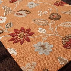 Hand-tufted rug made with a wool and art silk blend.  Product: RugConstruction Material: Wool and art silk