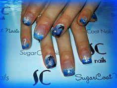 ocean nails -- SugarCoat Nails