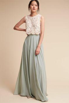 robe demoiselle d honneur deux parties