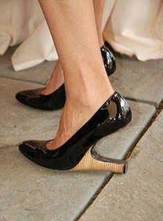 This heel is so....uh, i don't know! Lol