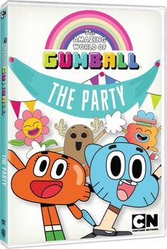 The Amazing World of Gumball - Vol 3: The Party on DVD: Date, Cost, Extras, Artwork