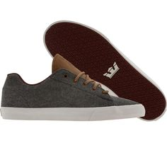 Supra Assault NS (grey / brown / white) $79.99 White Shoes, Brown And Grey, Kicks, Converse, Vogue, Footwear, Nice Things, My Love