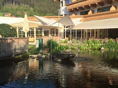 """See 8 photos and 1 tip from 3 visitors to Gartenhotel Magdalena Ried Im Zillertal. """"Very good hotel with nice wellness and excellent services"""" Best Hotels, Four Square, Fairy Cakes, Pond, Garten"""