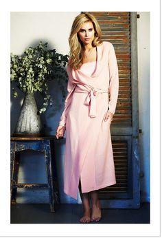 Melange Robe Pink