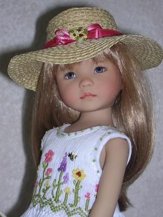 And for My Little Darling doll by Dianna Effner.