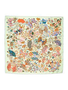 f83aceea06ad Hermès - Pluie d Etincelles   Carrés   Pinterest
