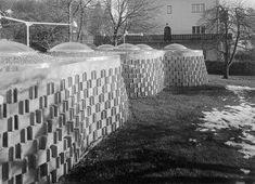 Josef Lackner, Grottenbad Flora, Innsbruck...1969-70 Foto: Wolfgang Feil, Architekturzentrum Wien, Sammlung Phoebe Buffay, Innsbruck, Flora, Snow, Projects, Outdoor, Design, Pictures, Cave