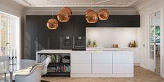 Flott kjøkken fra uno form   Enkelt og minimalistisk kjøkken