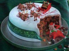 Santa ate all the cake