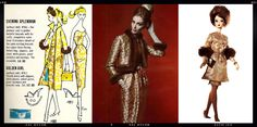vintage barbie couture | Solo In The Spotlight 1960 – Balenciaga 1952 – Silkstone Stunning ...