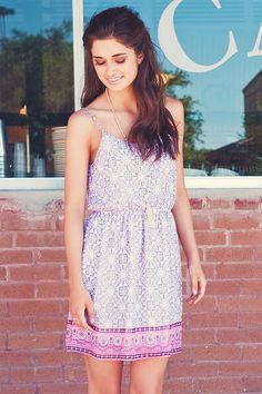 Navasota Printed Dress-this looks like a fun summer dress!