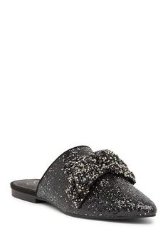 8b9817721f007 Jessica Simpson Cesely Mule Flat. Manmade upper and sole Pointed toe  Embellished vamp Mule design