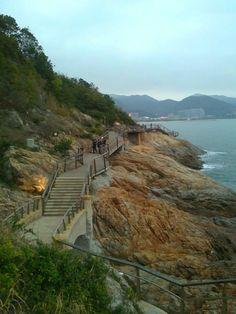 Dameisha seaside plank road, Dameisha, Shenzhen