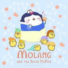 730 Molang Ideas Molang Molang Wallpaper Cute Wallpapers